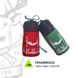 Hammock Gunung / Hiking / Adventure Trekking  - HAMMOCK