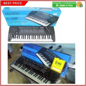 Alat Musik Keyboard Techno T-5000