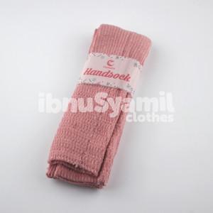 Manset Tangan Handsock Rajut Muslimah IbnuSyamil Dusty Pink
