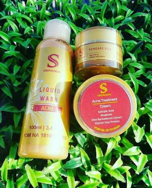 Shineskin paket acne meradang