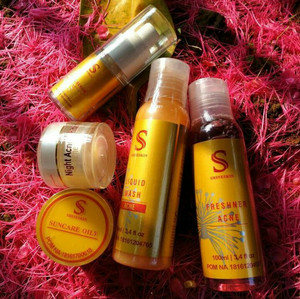 Shineskin paket acne white isi 5