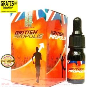 BRITISH PROPOLIS Herbal Super Premium Propolis Jamu Terbaik 6ml