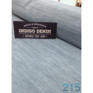 215 - Jual Bahan Jeans / Denim Light Blue Non Strech Washed