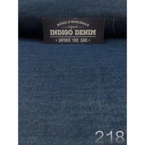 218 - Jual Bahan Jeans / Denim Blue Non Strech Washed Tipis