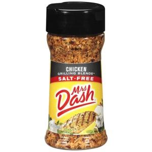 Mrs. Dash Chicken Salt Free Grilling Blend Bumbu Bebas Garam