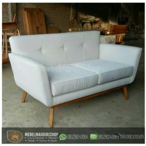 Kursi Sofa Tamu Retro Minimalis