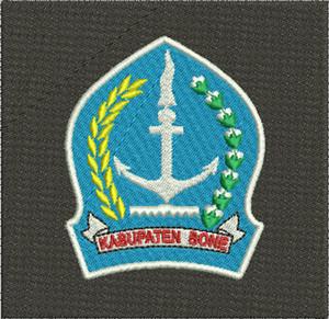 Jual Logo Kabupaten Bone Bordir Komputer Kota Tangerang Asakamarket Tokopedia