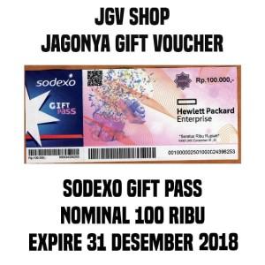 Voucher Sodexo Gift Pass 100.000 (Logo Hewlett Packard Enterprise)