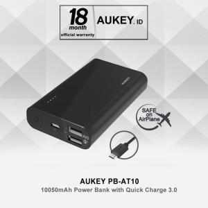 Aukey PB-AT10 Powerbank 10050mAh PowerAll Qualcomm Quick Charge 3.0