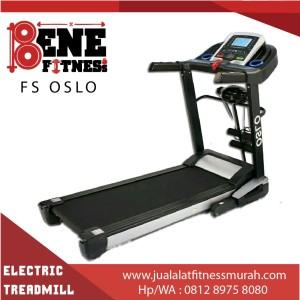 Treadmill elektrik lari alat fitness FS OSLO olahraga fitnes