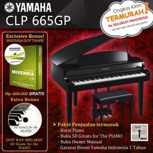Jual Yamaha Clavinova CLP 665GP / CLP 665 GP / CLP665 GP - Grand Piano -  Kota Bekasi - ArtTech | Tokopedia
