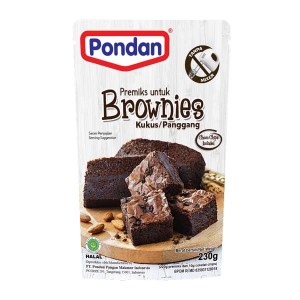 PONDAN Brownies Kukus Panggang Pouch 230 gr
