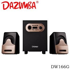 Dazumba DW166G Bluetooth Speaker 2.1 - Gold