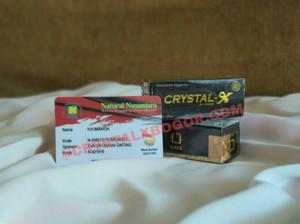Crystal X Asli Resmi PT Nasa
