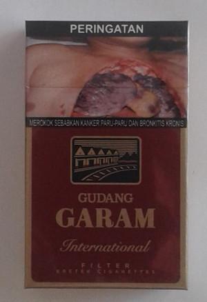 Rokok Gudang Garam International 12 GP Filter