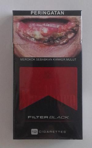 Rokok Marlboro Filter Black 12