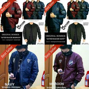 Jaket parka pria polos hoodie bgsr hitam Lazada Indonesia Source · JAKET BOOMBER ORIGINAL JAKET PARKA