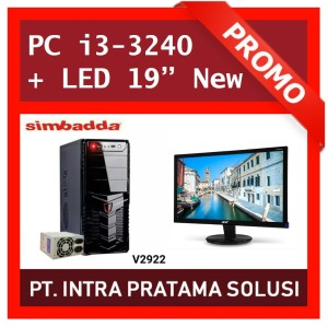 Komputer / PC- Core i3 3240 + Monitor LED Acer 19