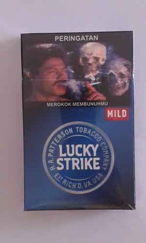 Rokok Lucky Strike Mild 16
