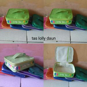 Tas lolly daun/tas bekal/tas lolly tup