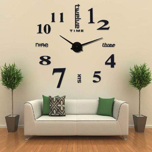 Jam Dinding Rasaksa Tipe F005 hitam
