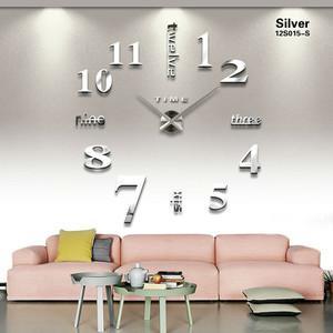 Jam Dinding Rasaksa Tipe F005 silver