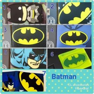 Dompet anak laki cowok superhero captain america batman import wallet