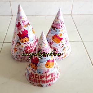 Party Birthday Hat / Topi ulang tahun Num Noms