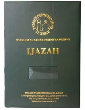 Map Ijazah Map raport K 13 Bahan ASE HOT Print Tinta Emas non Foil