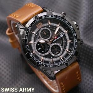 Jam Tangan Pria Swiss-Army-Dino-LightBrown