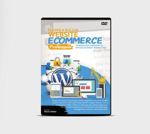 DVD Tutorial Membangun Toko Online Profesional Dengan Wordpress