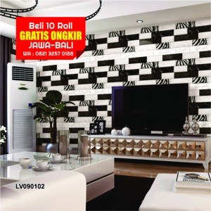 modern black white. Wallpaper Motif Kayu Modern Black White 10MX53CM, Bukan Wallsticker