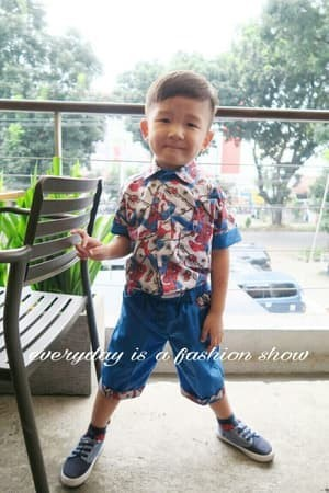 Jual Fashion Anak Pakaian Anak Laki Laki Set Kids Spiderman Abu Dki Jakarta Ridwans Shop 76 Tokopedia