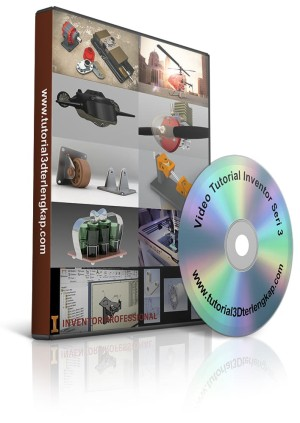 Video Tutorial Mastering Autodesk Inventor Pro 2018 Update Seri 3
