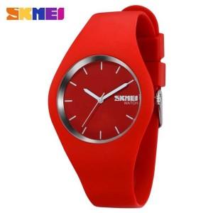 Jam Tangan Wanita SKMEI Casio Women Sport LED Original 9068C Merah