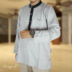 Baju Koko Busana Muslim Dewasa Syar'i Lengan Panjang Abu IbnuSyamil