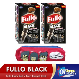 OT/New Arrival Fullo in Black Buy 2 Free Tempat Pensil -FIBTP