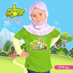 Kaos Anak Muslim - Ibnu Bajjah - Ahli Botani - STP 04 (XL)