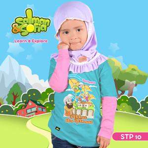 Kaos Anak Muslim -Abbas bin Firnas - Penerbang Pertama - STP 10 (XS)