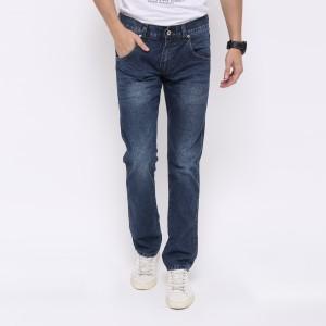 Edwin Celana Jeans 508-12-34 Slim Fit Pria Panjang Dark blue - Biru, 28