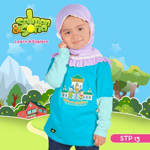 Kaos Anak Muslim - Fatimah Al Fihri - Pendiri Universitas - STP13 (XL)