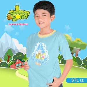 Kaos Anak Muslim -Jabir Ibnu Hayyan - Bapak Kimia Modern - STL 12 (XL)