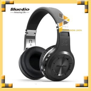 Bluedio H+ Turbine Hurricane Wireless Headphone Bluetooth 4.1 HITAM