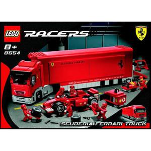 Lego Ferrari 8654 Scuderia Ferrari Truck