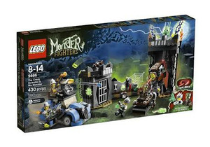 Lego Monster Fighter 9466 The Crazy Scientist & His Monster