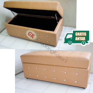 Sofa Puff bagasi ( storage) hidrolik 150