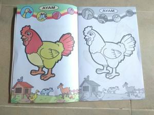 Jual Buku Mewarnai Binatang Ternak Jakarta Selatan Intansalsa Shop Tokopedia