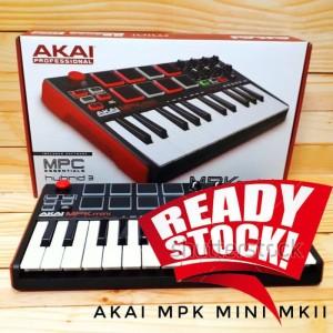 Akai MPK Mini MKII / MK2 (BANDUNG) USB Keyboard Midi Controller 25-Key