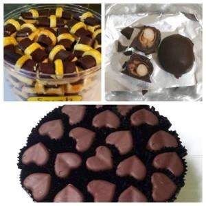 Paket Aneka Cokelat Lezat Bangeed, 3 Toples (@ 250 Gr)