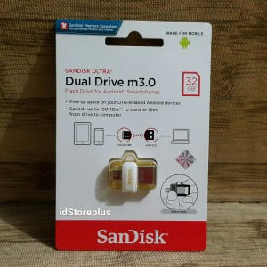 Flash Disk SanDisk Ultra Dual Drive M3.0 32GB USB 3.0 OTG GOLD EDITION